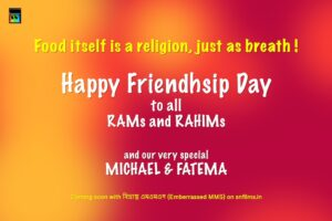 Happy friendship day 2019 from team SN Films