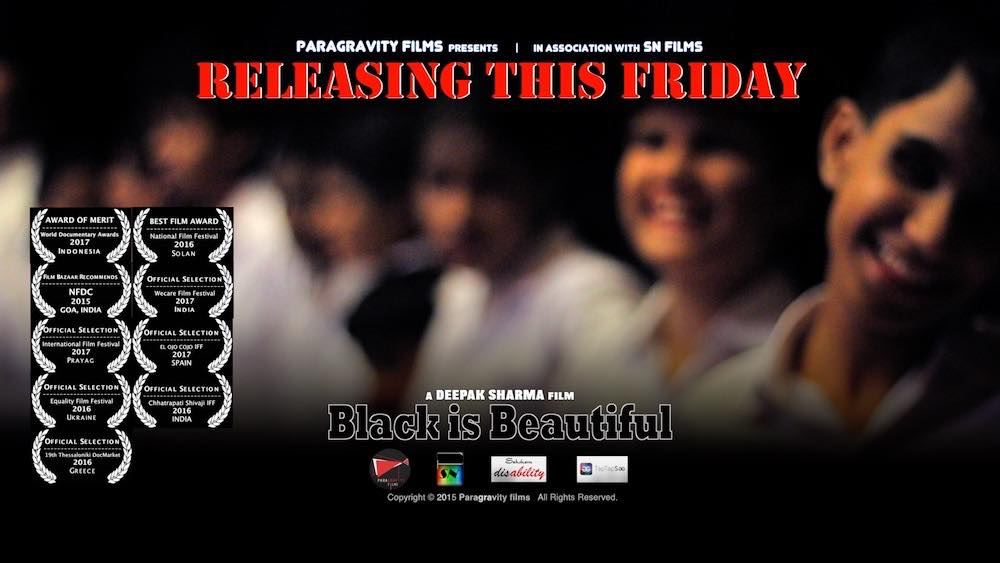Black is beautiful - releasing this friday