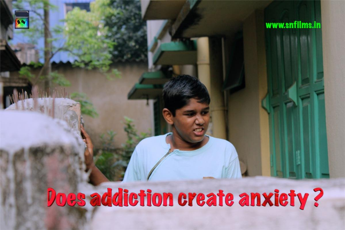 Does addiction create anxiety