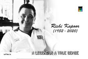 Rishi Kapoor - passed away - 30 April 2020