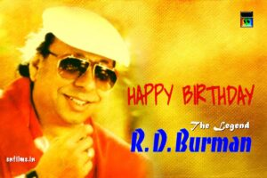 Rahul Deb Burman - Happy Birthday - 2020 June 27