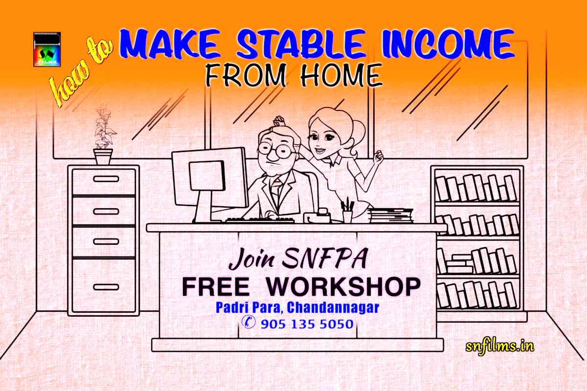 How to make stable income from home - SNFPA initiative