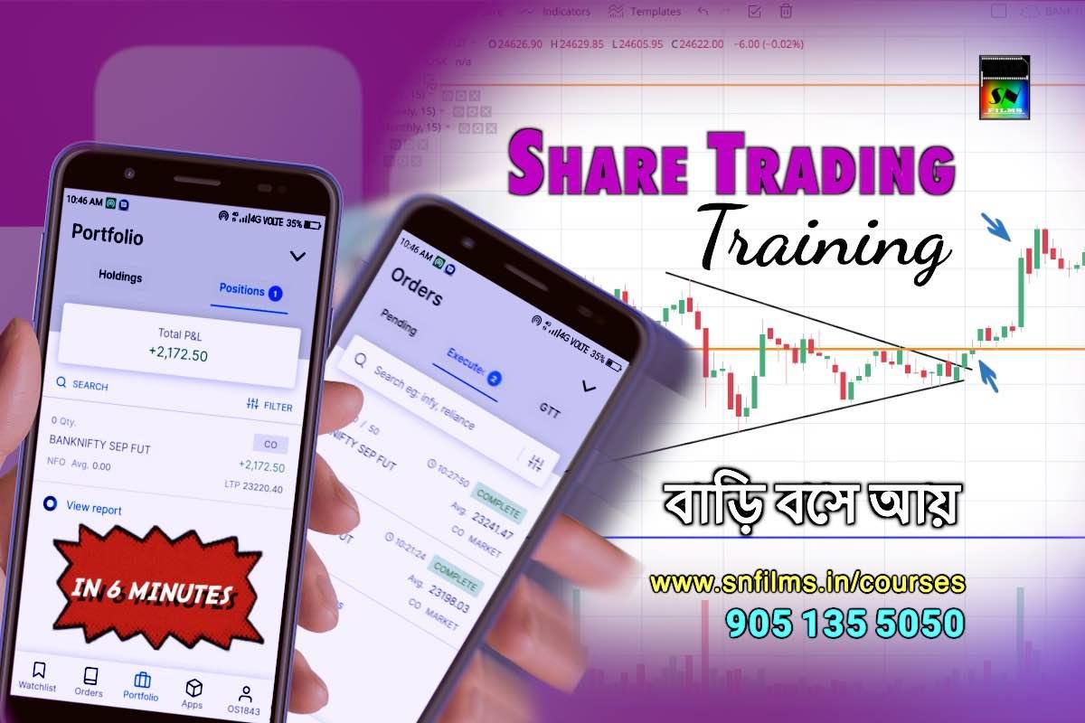 Online/Classroom Share Trading Training