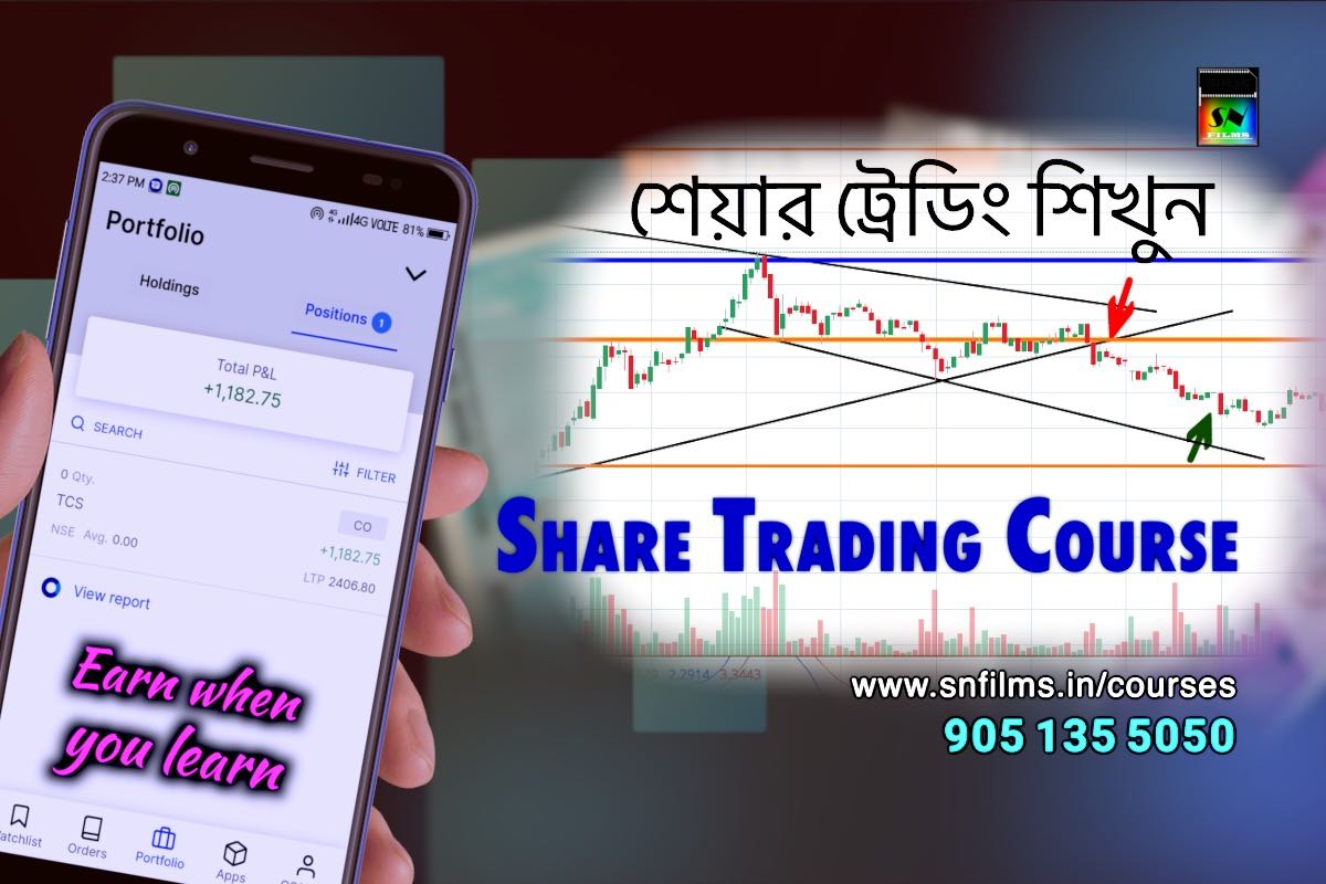 Share Trading Class Admission Notice - snfpa - earn when you learn