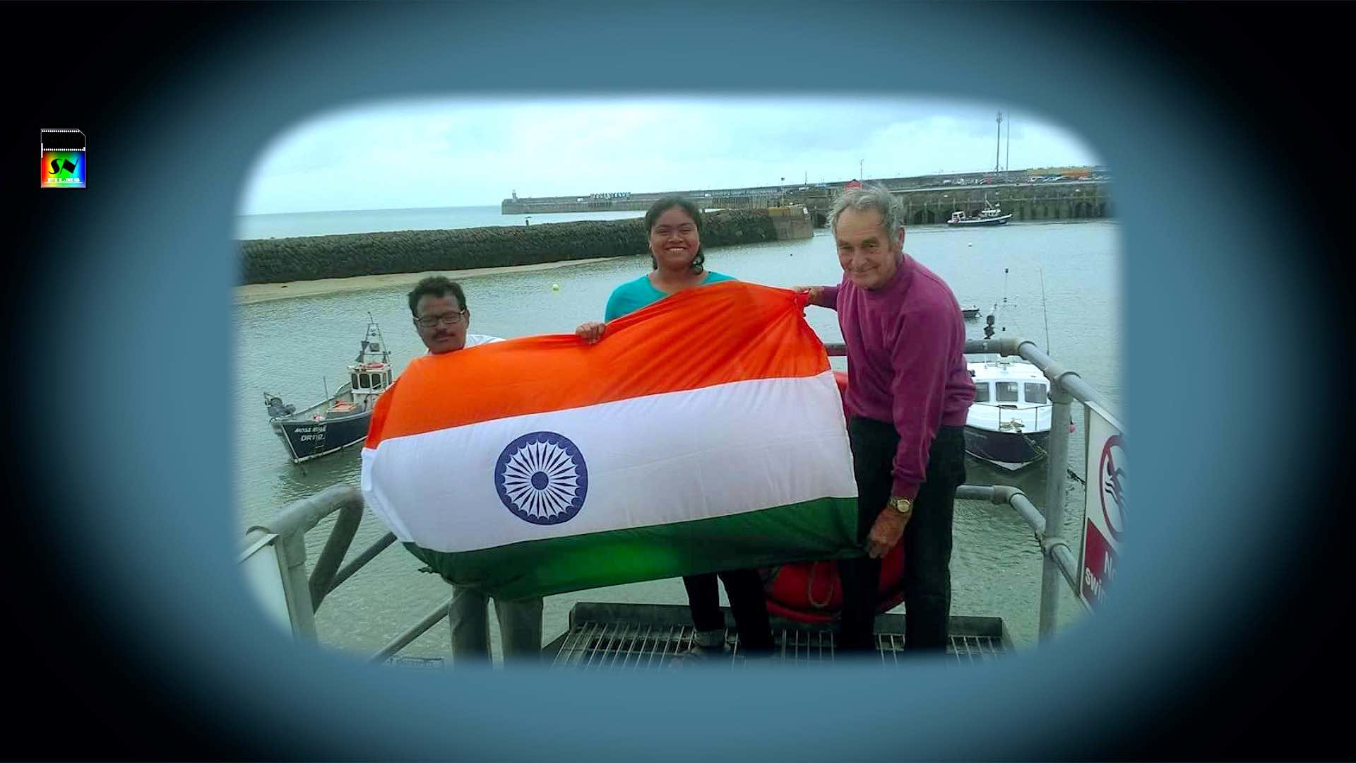 Sayani's Flag Hoisting Experience in England