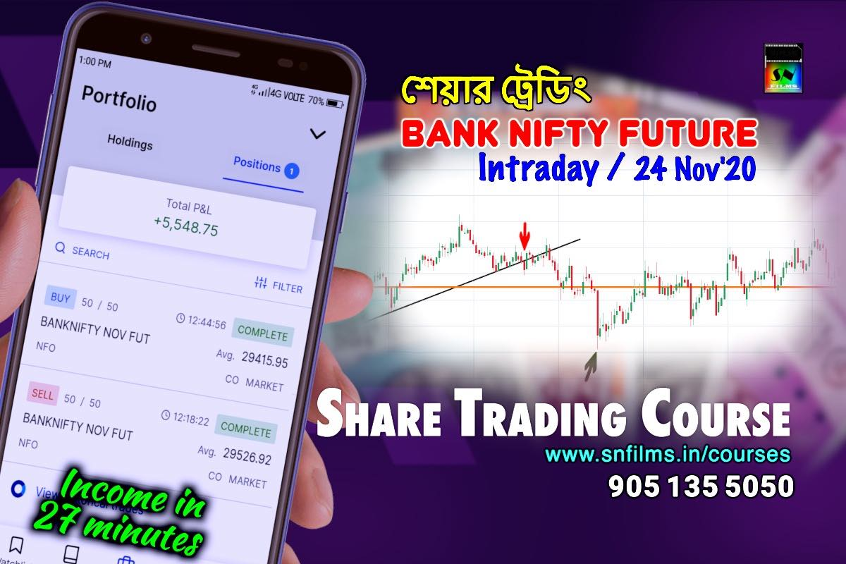 Take admission by 30-Nov to avail ₹1000/- discount - share trading class - snfpa