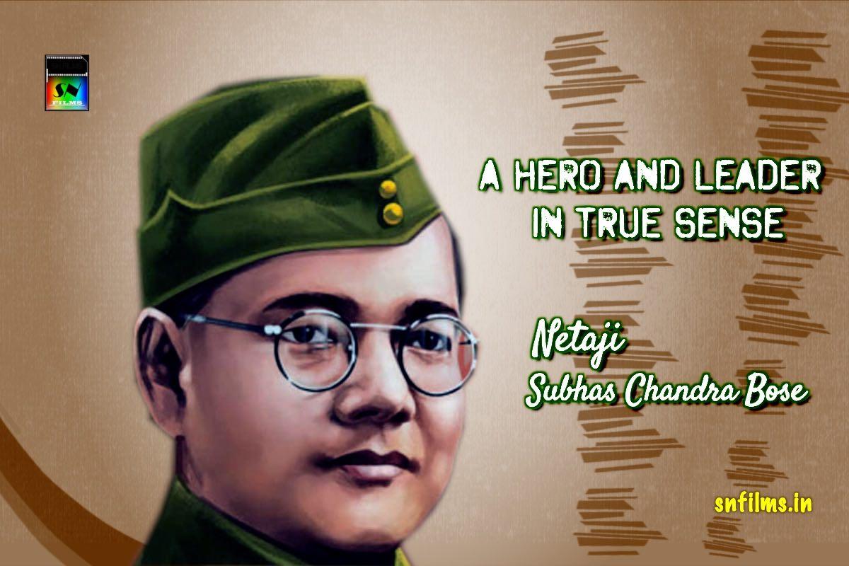 Birth anniversary of Netaji - the greatest leader and hero of India