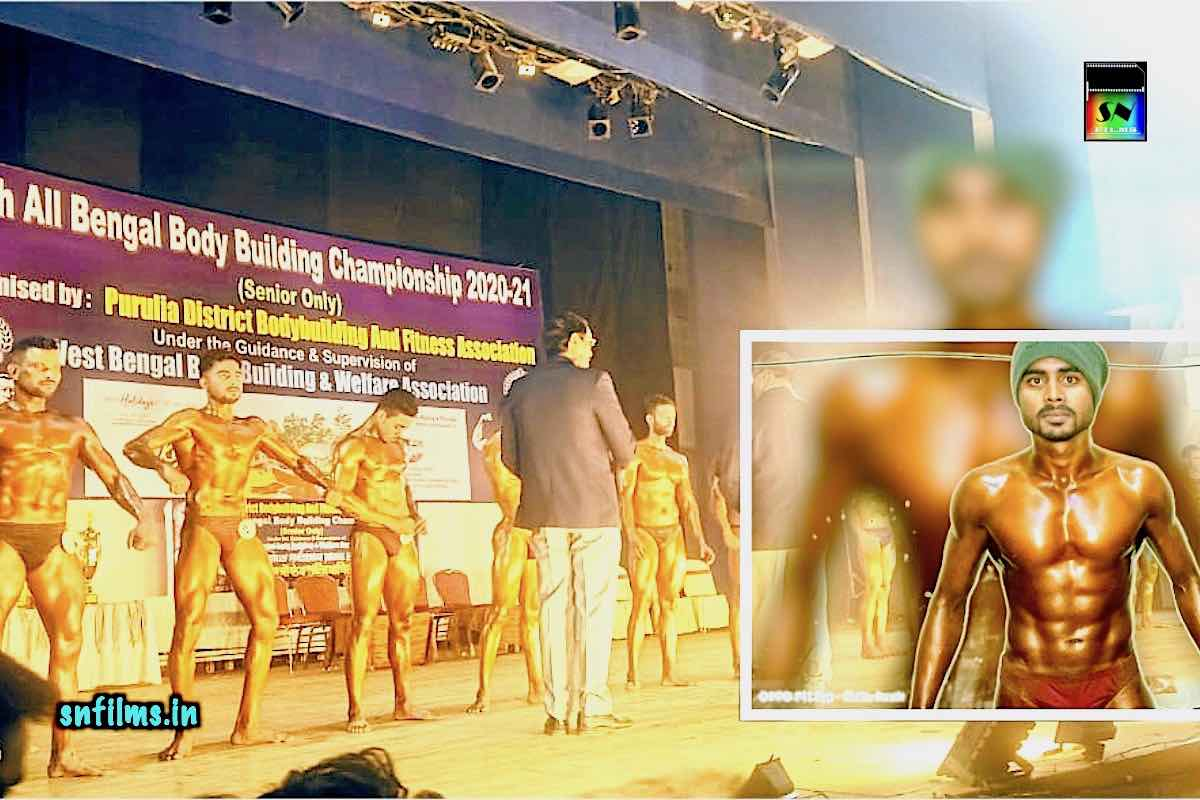 SNFPA Modeling Student Raj in 10 Top at All Bengal Body Building Championship - snfpa