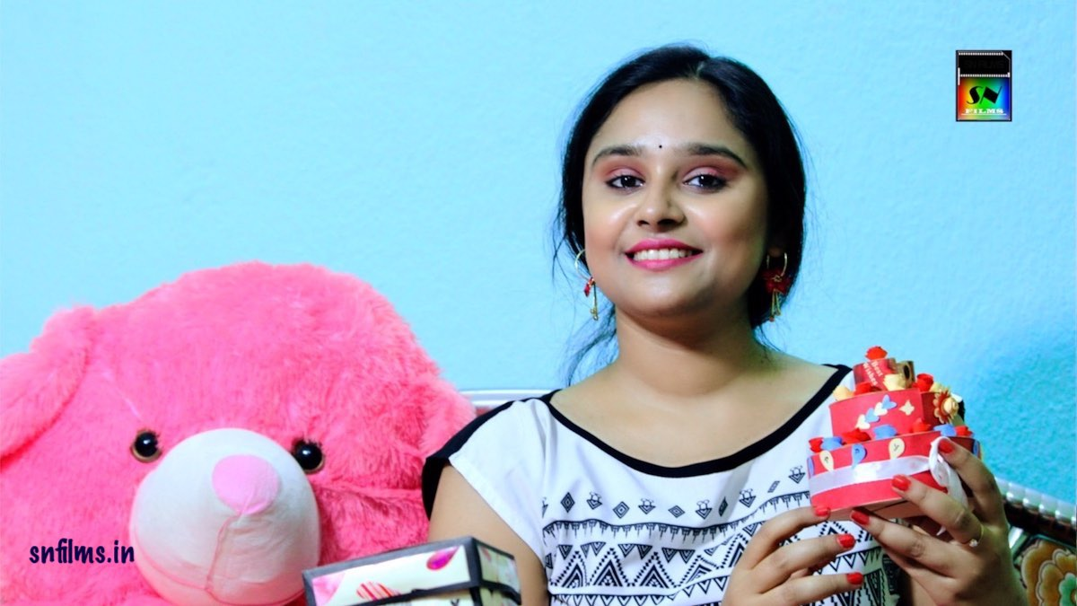 Handicrafts - Gift Items making Video by Debjani | SN Films Performing Arts - created by Sanjib Nath